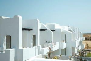 Terasse des appartements à Mansouria Beach Resort Mohammedia