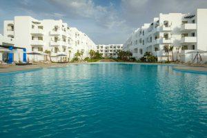Piscine résidence Mansouria Beach Resort Mohammedia Bouznika