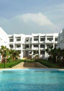 Appartement vue sur piscine à Mansouria Beach Resort Mohammedia Bouznika