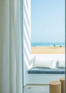 Terasse appartement vue sur mer à Mansouria Beach Resort Mohammedia Bouznika