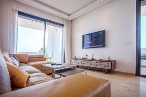 Salon appartement témoin Mansouria Beach Resort Mohammedia Bouznika