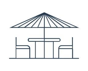 Terrasse icone appartement a vendre Mansouria Beach Resort Mohammedia Bouznika